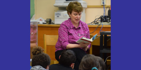 Lynn Plourde Inspires Readers at Atwood Primary and Williams Elementary